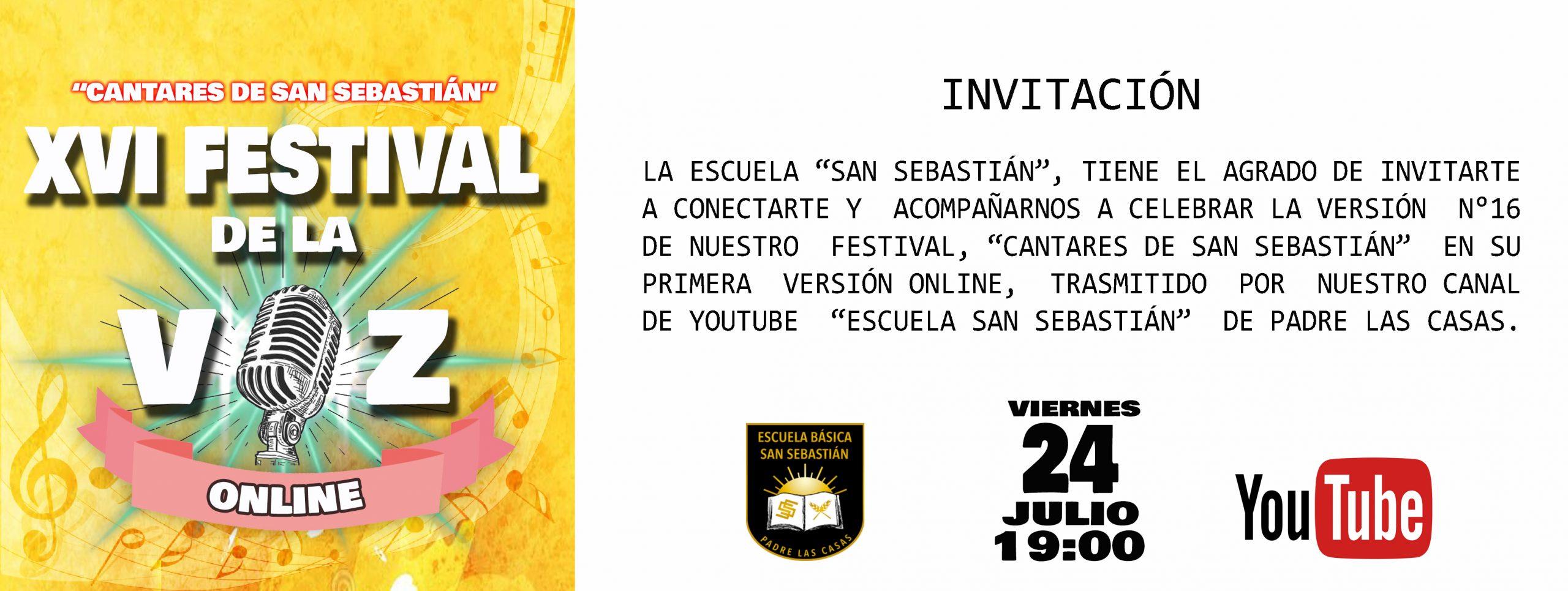 INVITACION FESTIVAL